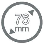 76 mm